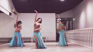 Bellydance Choreography - 3 Daqat - By Desert Roses in Singapore Resimi
