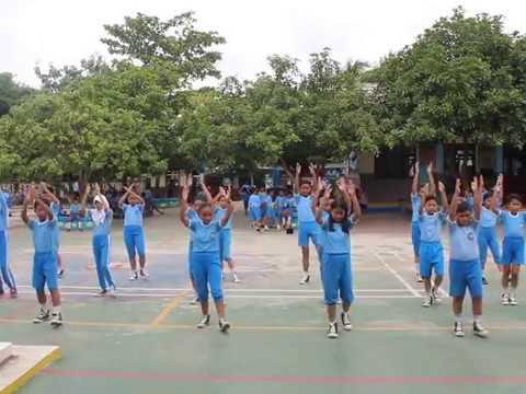 SENAM BUGAR ANAK INDONESIA || Ujian Praktek Senam kelas 6 SD Plus Hangtuah 2 Jonggol