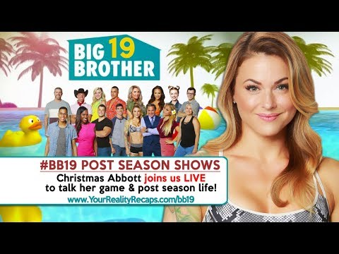 #BB19 POST SEASON SHOW: Live With Christmas Abbott