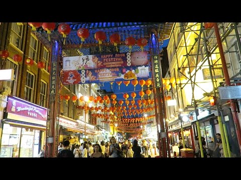 Chinatown London Mid Autumn Mooncake Festival Street Food Vlog