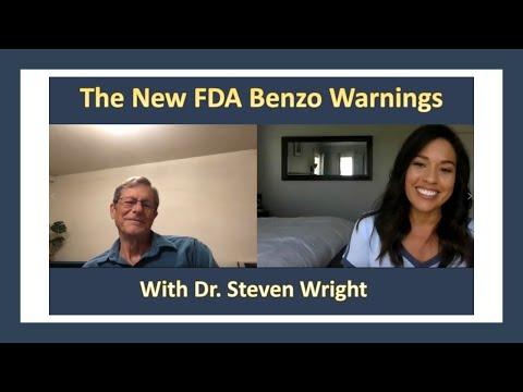 Expert Dr. Steven Wright on the New FDA Benzo Warnings #mentalhealthawarenessmonth