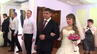 Новомосковск Свадьба Антоновых Ярослава и Марины