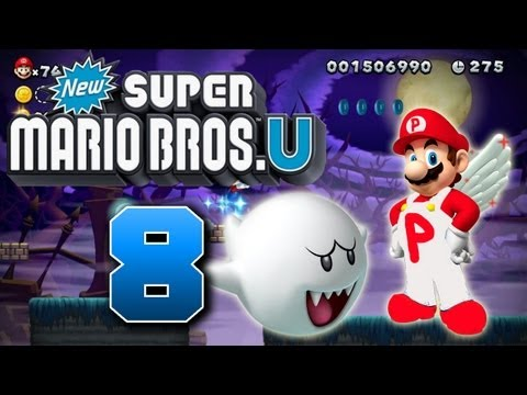 Let's Play New Super Mario Bros U Part 8: Eisiger Horror