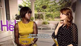 The Help Video Movie Conversation - Tate Taylor, Octavia Spencer, Emma Stone And Viola Davis