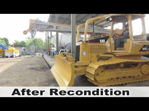 INDOQUIP Recondition Caterpillar Bulldozer D3G