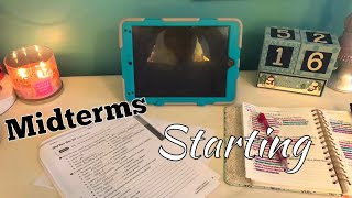 VLOGMAS Day 9: Midterms Starting!!