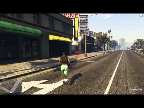 GTA 5 - Flare Gun Gameplay