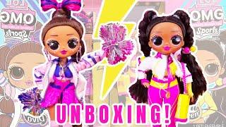 OMG Sports Dolls UNBOXING Cheer Diva & Vault Queen!