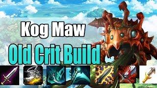 league of legends - Kog Maw - Old Crit Build