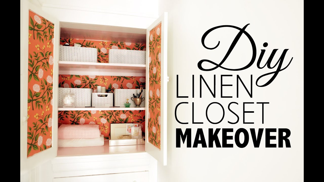 DIY Linen Closet Makeover U0026 Organization | Home Decor