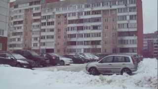 видео Бетон для строительства в районе станции метро Ломоносовская.