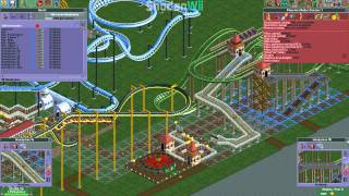 Roller Coaster Tycoon 2 (PC) - [Amity Airfield - 5 - Commentary]