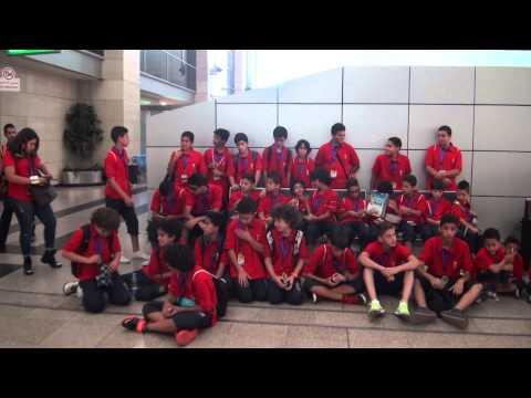 Fundación Atlético de Madrid Egypt Travel Day to Madrid