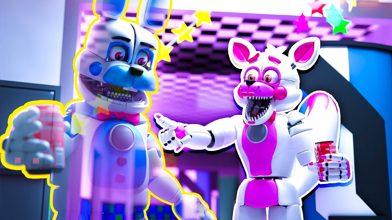 Funtime Bonnies Becomes Invisible FNAF Super Powers | Minecraft Five Nights at Freddy's Roleplay
