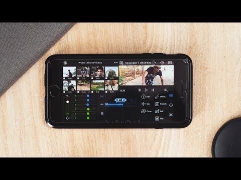 LumaFusion // Premiere pro for iPhone?!