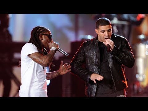 Lil Wayne VS Drake Live Battle - Dissing each other