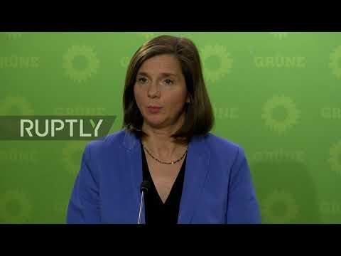 Germany: Break down of coalition talks 'regretful' - Green Party