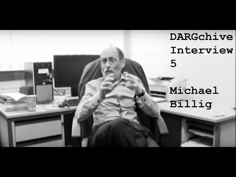 DARGchive Interview #5 with Michael Billig