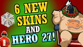 6 New Christmas Skins, Hero 27 Update, Year of the Dog Event, and More! - Overwatch News