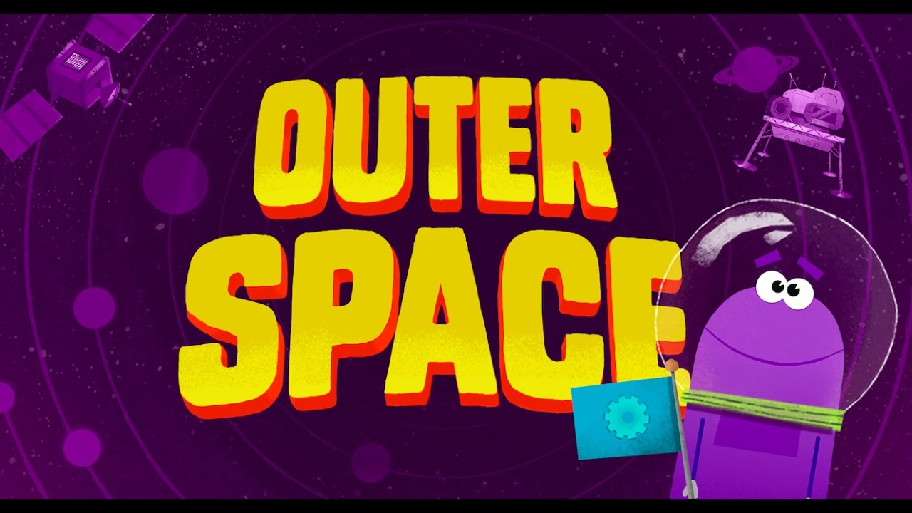 Storybots super songs episode 1 part 1 outer space for Outer space guitar