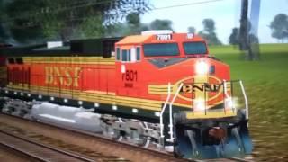 Rails of California Valley Episode 6 Part 2: BNSF VS. SANTA FE