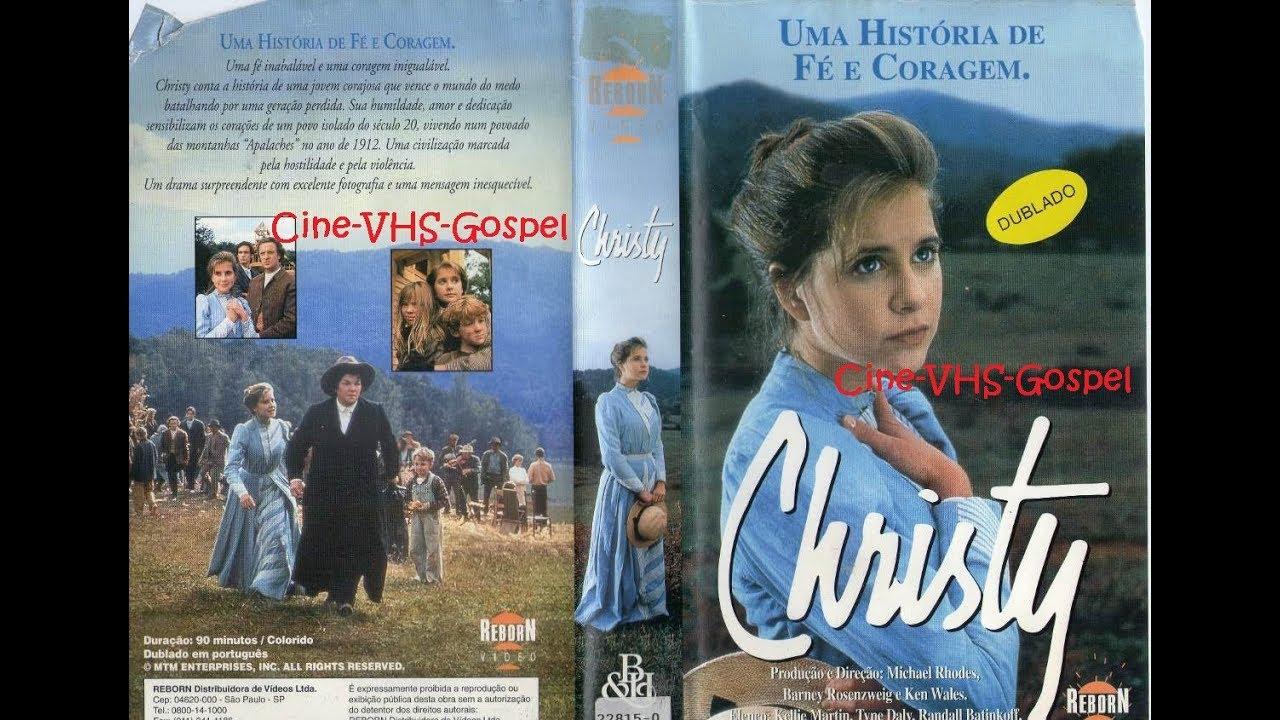 Filme Gospel VHS: Christy - Uma História de Fé e Coragem 1994