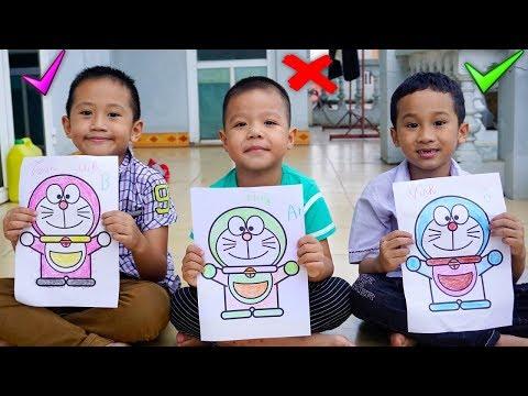 Trò Chơi Tô Màu Vẽ Tranh - Bé Nhím TV - Đồ CHơi Trẻ Em THiếu Nhi