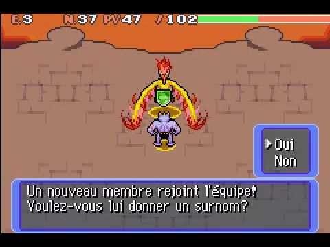 Recrutement de sulfura dans pok mon donjon mystere equipe - Sulfura pokemon rouge ...