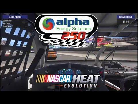 2017 Alpha Energy Solutions 250 Simulation