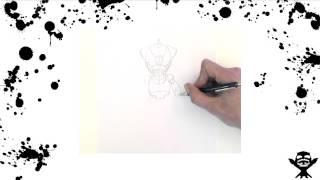HOW-TO draw a mini MazingerZ