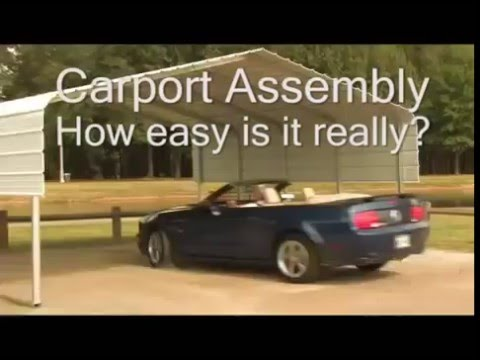 VersaTube Steel Carport Kits - Easy Assembly