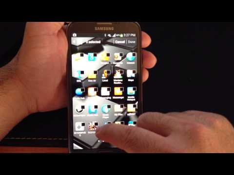 verizon galaxy unhide locate hidden apps