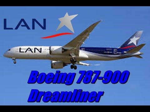 Boeing 787-900 Dreamliner LAN CC-BGF Vertical Leso.