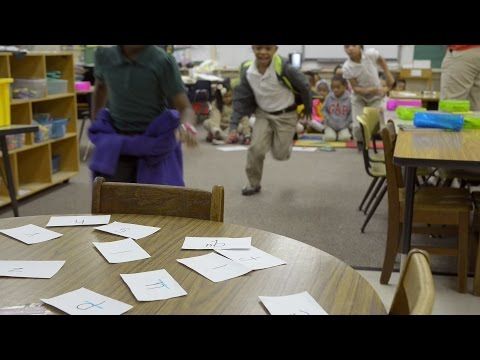 Kids Learning to Read at Estill Elementary School