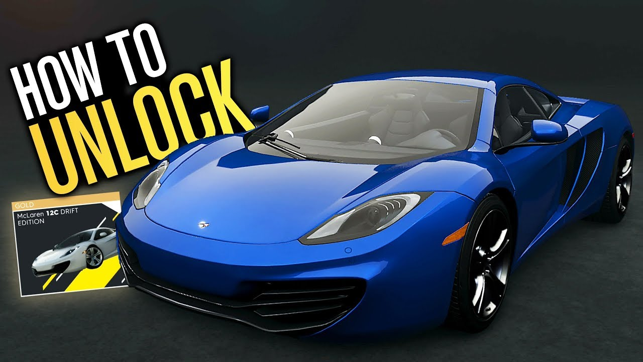 The Crew 2 - How to Unlock NEW McLaren 12C DRIFT EDITION!