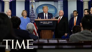 President Donald Trump the Coronavirus Task Force Hold a Briefing | LIVE | TIME