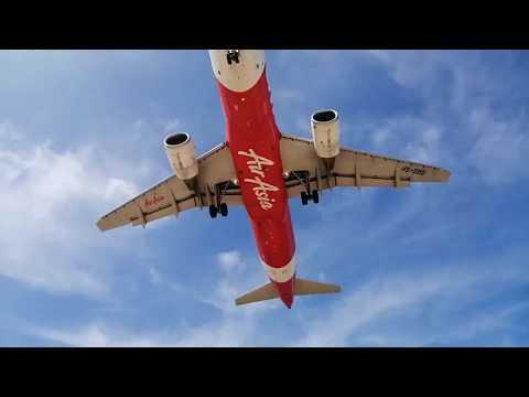 Как я поймала самолет за хвост! Пляж Май Као. Пляж с самолетами Тайланд.