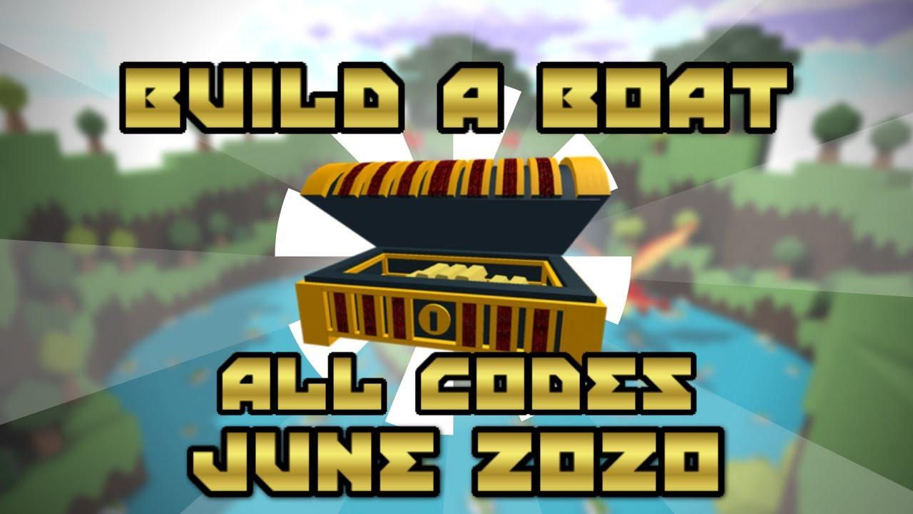 build a boat roblox codes