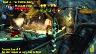 Lego Pirates of the Caribbean: Level 14 The Brethren Court - FREE PLAY (Minikits and Compass) - HTG
