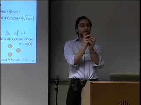 """Tony Jebara - """"Learning Networks of Places and People from Location Data"""""""