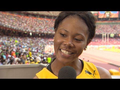WHC 2015 Beijing - Natasha Morrison JAM 100m Heat 2