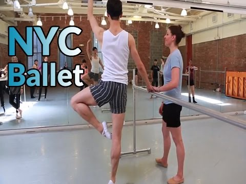 BALLET CLASS: Breton Tyner-Bryan's - Peridance Capezio New York City