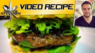 How To Make Ramen Burgers