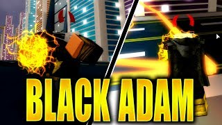 NEW CODES! Limited Edition Black Adam Villain Powers | Super Hero Adventures Online in Roblox