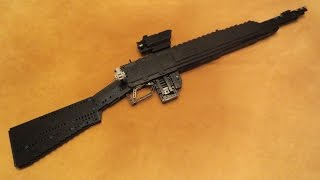lego heavy weapons jungle carbine working