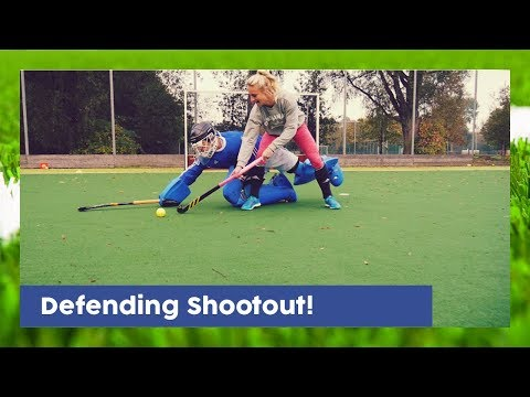 How To Defend A Shootout - Goalkeeper Technique | HockeyheroesTV