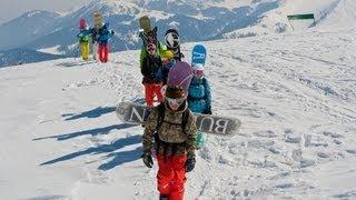 Skiing & Snowboarding in Gulmarg (Kashmir)  [720p]