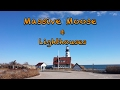 Maine Lighthouses and A Giant Moose
