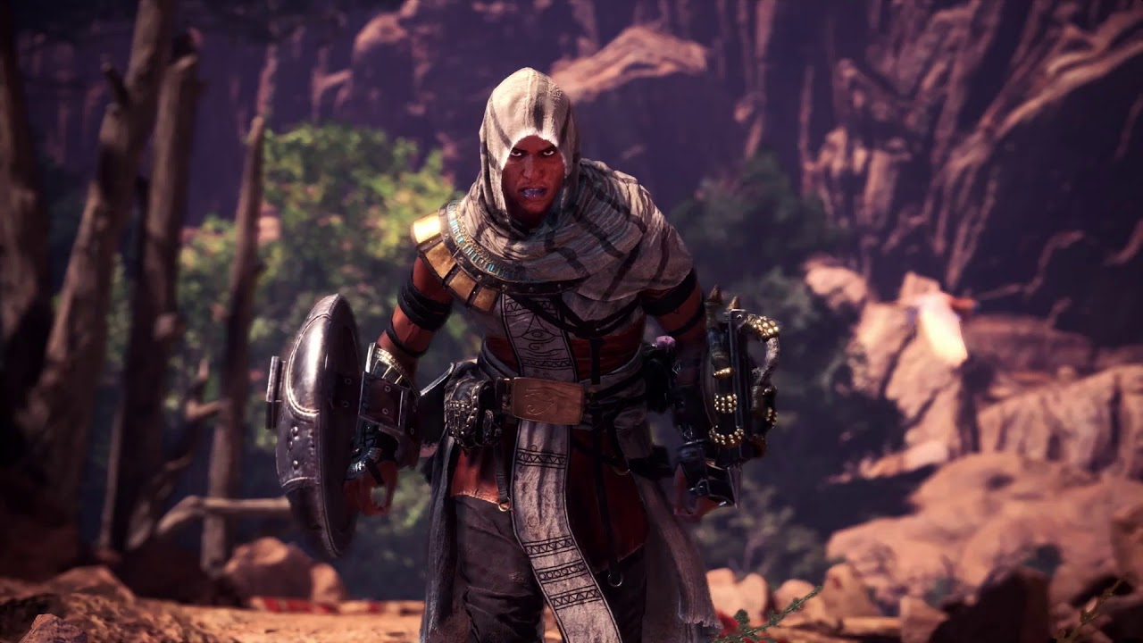 Monster Hunter World X Assassin S Creed Collaboration Trailer