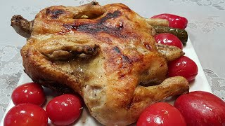 Курица гриль запеченная в духовке целиком